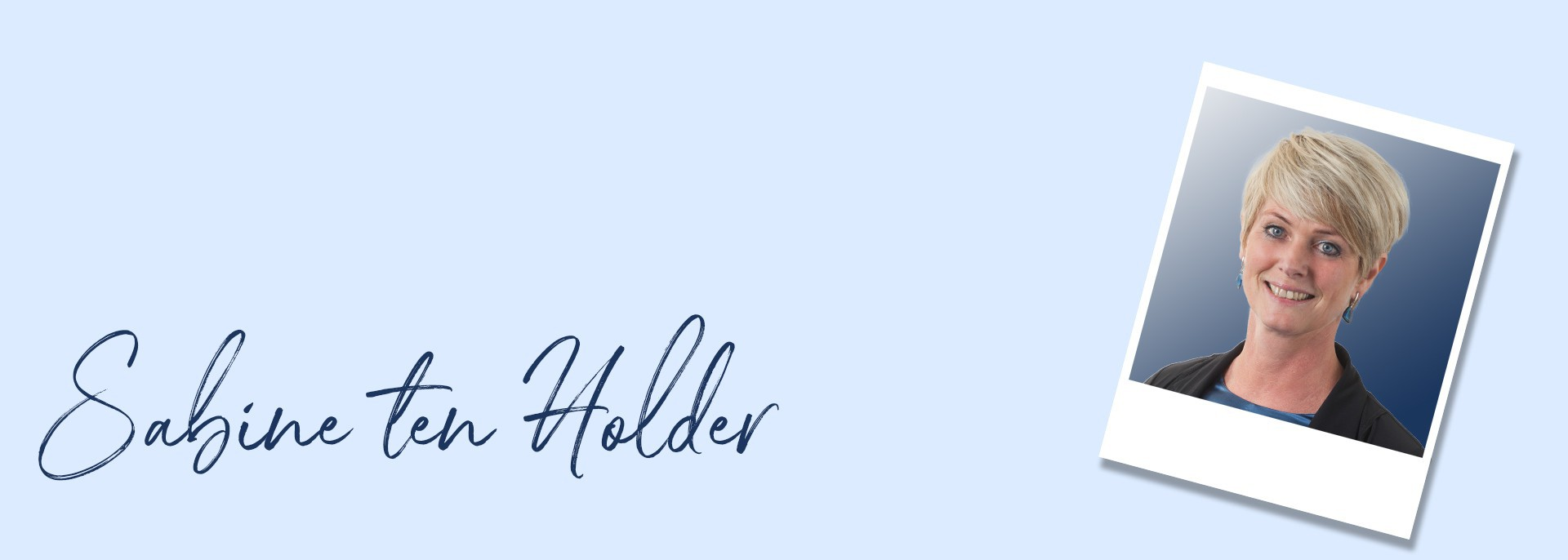 Sabine ten Holder